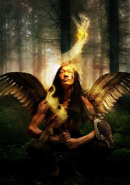 Báseň Samhain III věci jež vidí šaman (básně jiných) 1 (421x600)