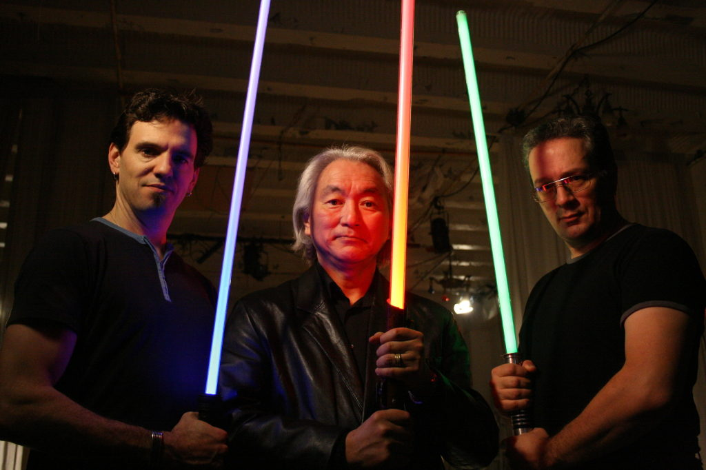 Dr. Michio Kaku as seen on the Lightsaber episodes of Physics of The Impossible.