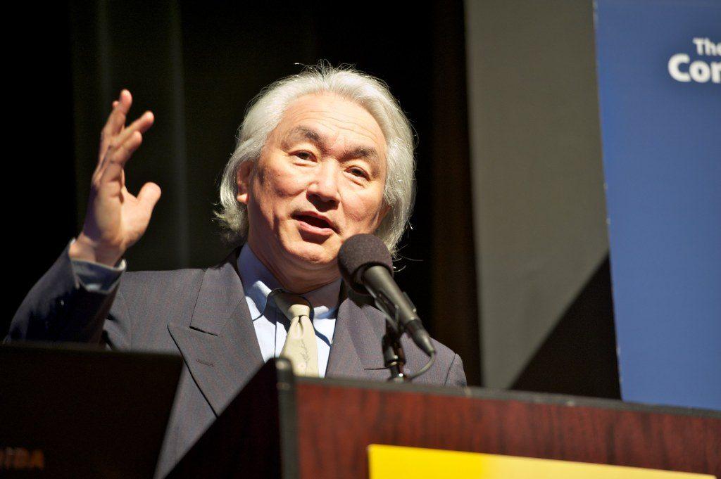 Photo: ED RITGER Michio Kaku in Palo Alto CA